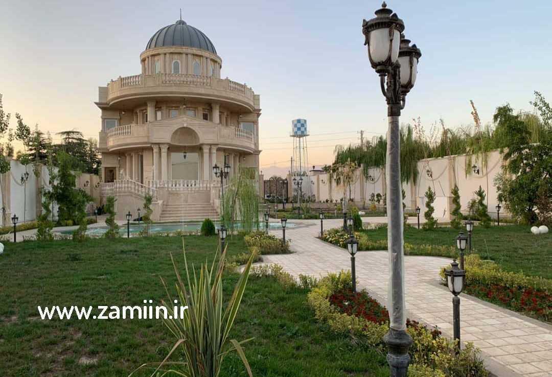 خرید ویلا در شهرک طاووسیه کردان ،لاکچری وزیبا با 2 استخر
